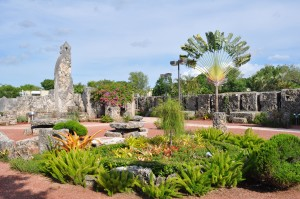 The Coral Castle south of Miami is a unique home built by a single man over almost three decades.