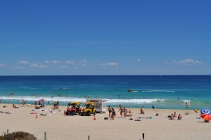 Scarborough Beach outside of Perth, Australia